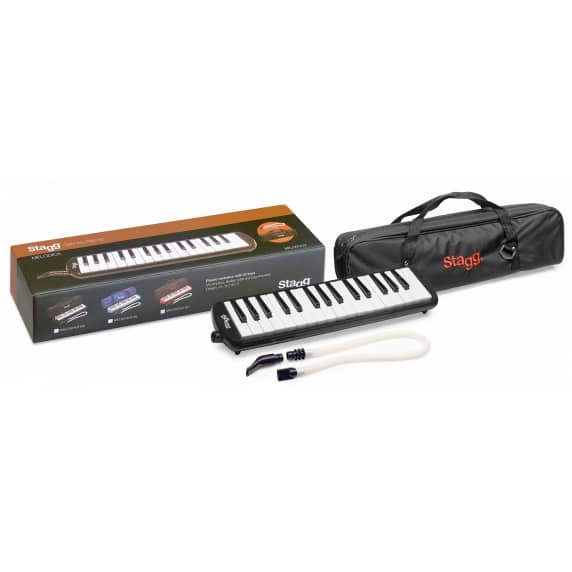 Stagg Black 32 Key Melodica with carry bag