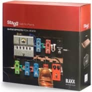 Stagg Blaxx Wood Pedal Board (With Carry Case)