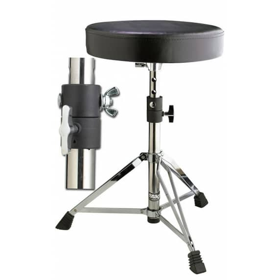 Stagg DT-35 Double Braced Chrome drum Stool