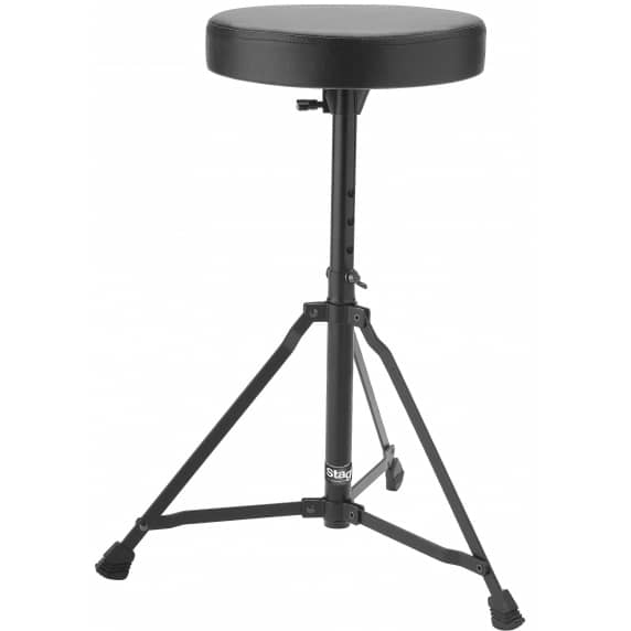 Stagg DT22-BK Single Braced Drum Stool