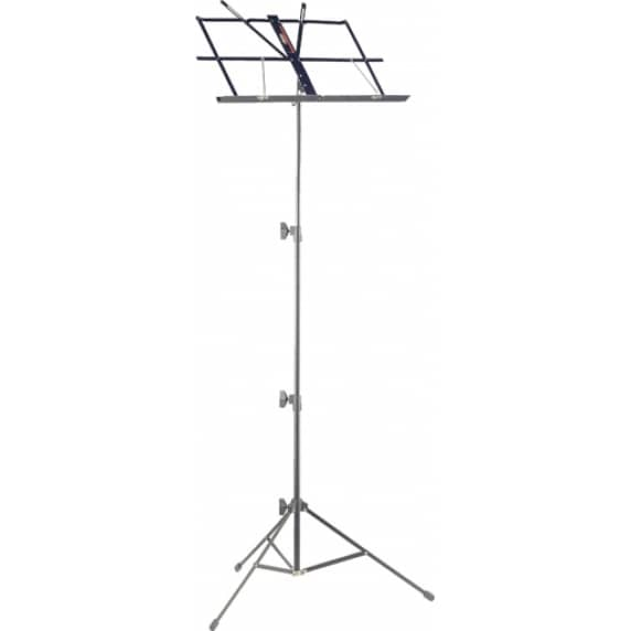 Stagg MUS-A25-BK 3-Section Collapsible Steel Music Stand