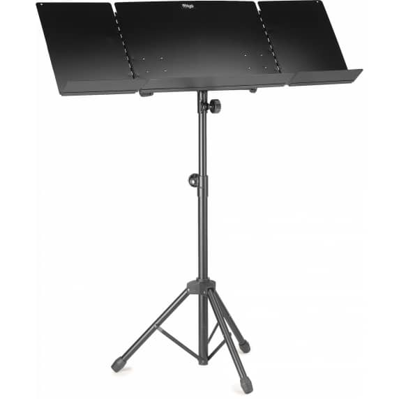 Stagg MUS-A6 Heavy Duty Folding Orchestra/Conductor Stand - Black