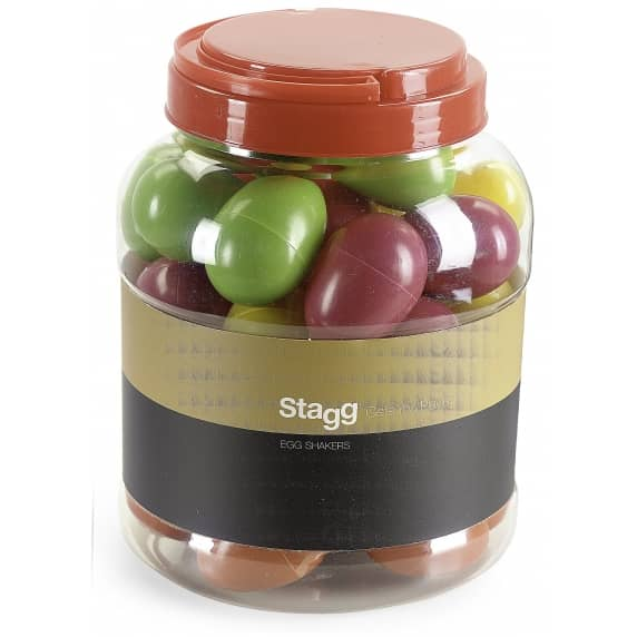 Stagg Plastic Egg Shakers/Box of 40