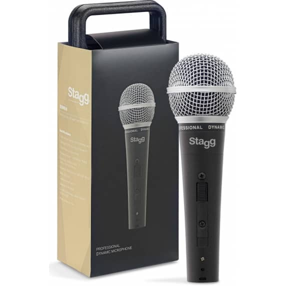 Stagg SDM50 Cardioid Dynamic Microphone