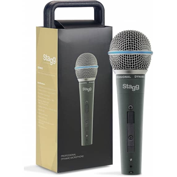 Stagg SDM60 Cardioid Dynamic Microphone