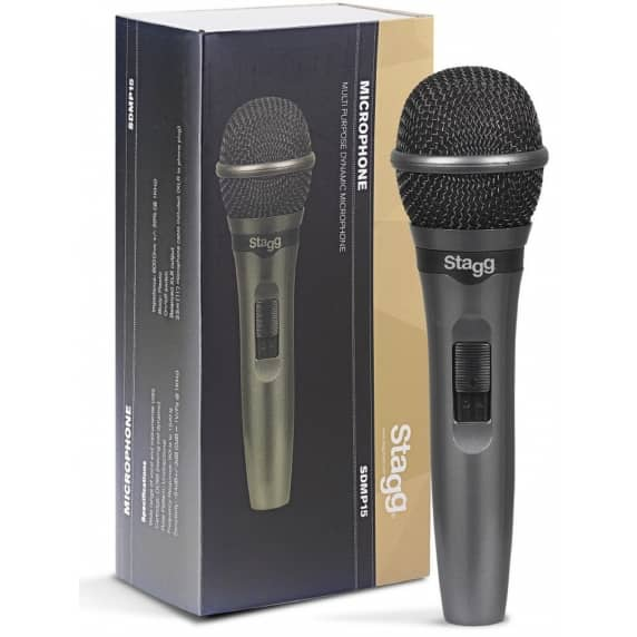 Stagg SDMP15 Live Stage Dynamic Microphone