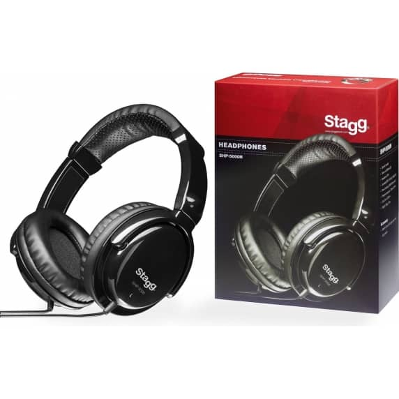 Stagg SHP-5000 Closed-Back DJ/Monitor Headphones