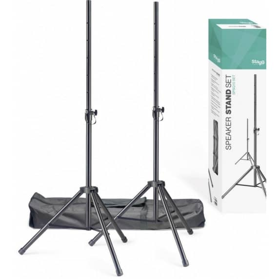 Stagg SPSQ10-SET PA Speaker Stands with Carry Bag