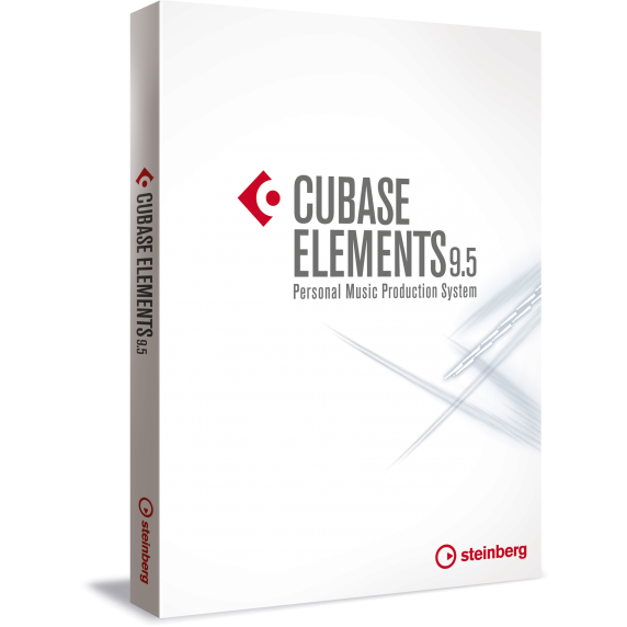 Steinberg Cubase 9.5 Elements Music Production Software