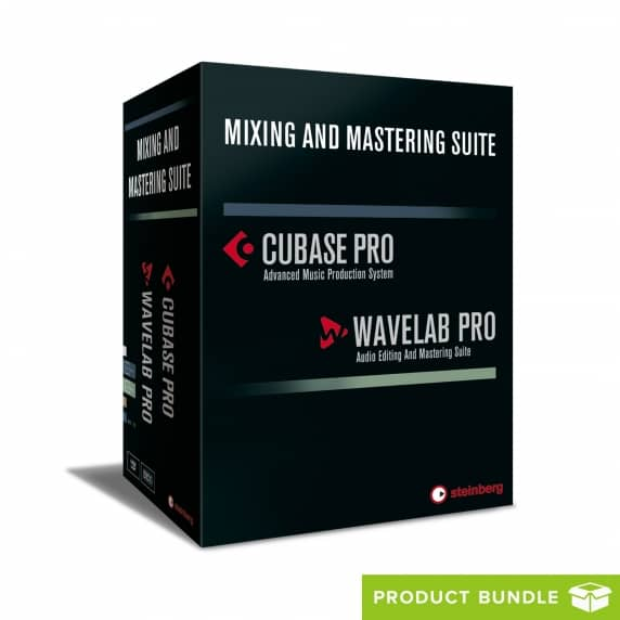 Steinberg Cubase Pro 9.5 + Wavelab Pro 9.5 Mixing and Mastering Suite