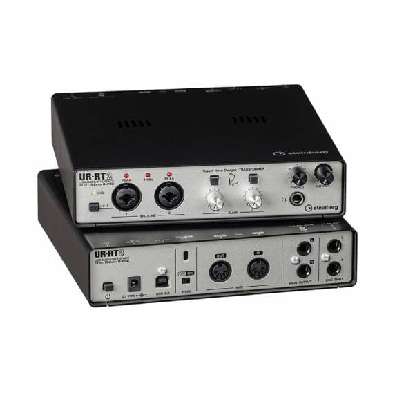 Steinberg UR-RT2 USB Audio Interface with 2 Rupert Neve Transformers
