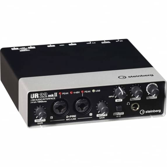 Steinberg UR22 MKII USB Audio Interface - EDUCATIONAL