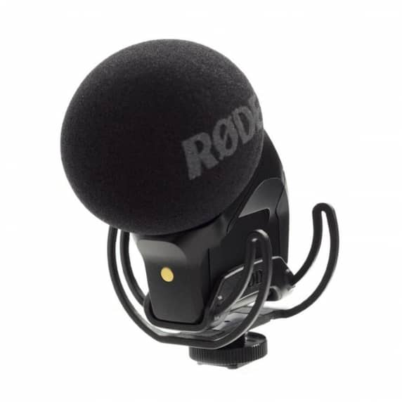 Stereo VideoMic Pro with Rycote Lyre Suspension