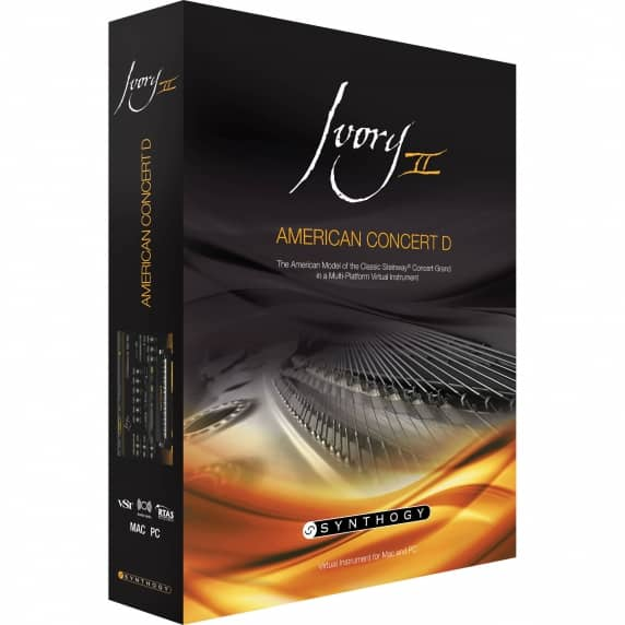 Synthogy Ivory II - American Concert D (Serial Download)