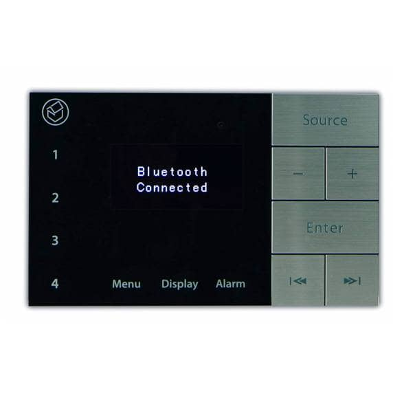 Systemline E100 In-Wall Amplifier with Bluetooth, DAB & FM