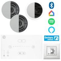 Systemline E50 Bluetooth Music System for Bedroom & En-Suite
