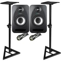 Tannoy Reveal 402 [Pair] with Stands and Cables