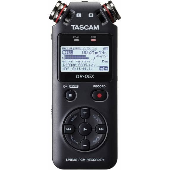 Tascam DR-05X Portable Recorder & USB Audio Interface