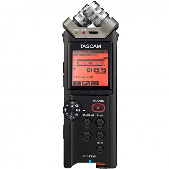 TASCAM DR-22WL Portable Recorder with WiFi