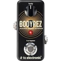 TC Electronic BodyRez- Ultra Compact Acoustic Pickup Enhancer Pedal