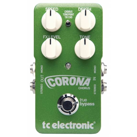 TC Electronic Corona Chorus Guitar Effects Pedal