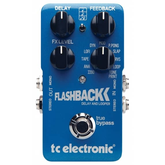 TC Electronic Flashback Delay & Looper Guitar Pedal