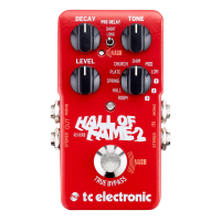 TC Electronic Hall of Fame 2 Reverb Pedal - B-STOCK