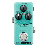 TC Electronic HyperGravity Mini - Multi-Band Compressor Pedal