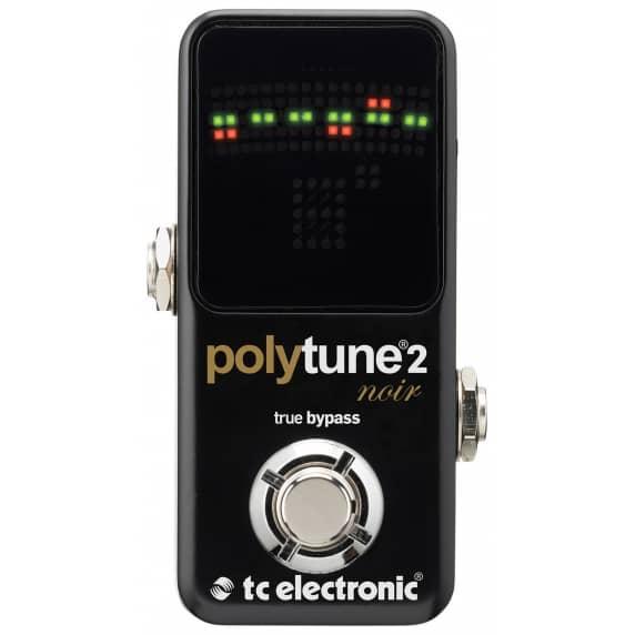 TC Electronic PolyTune 2 Noir Guitar Tuner