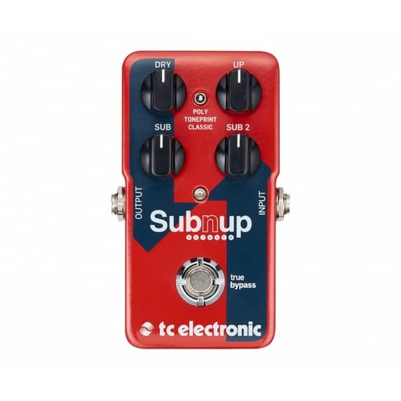 TC Electronic Sub 'N' Up Polyphonic Octave Guitar Pedal