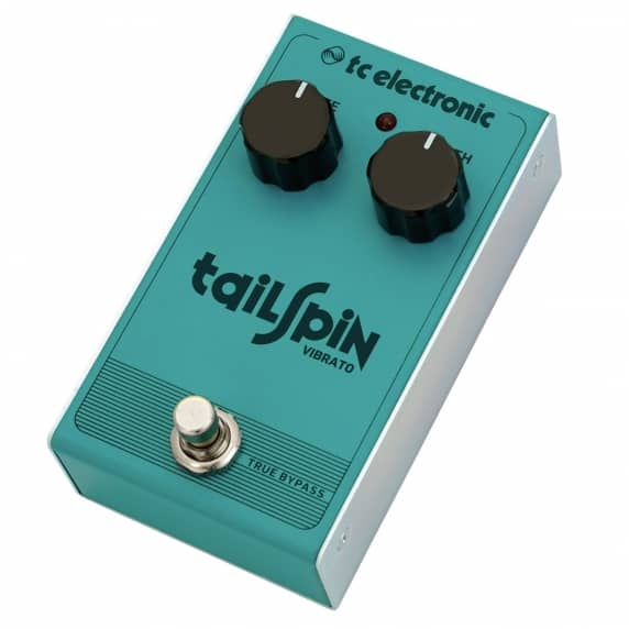TC Electronic Tailspin Vibrato Guitar Effects Pedal