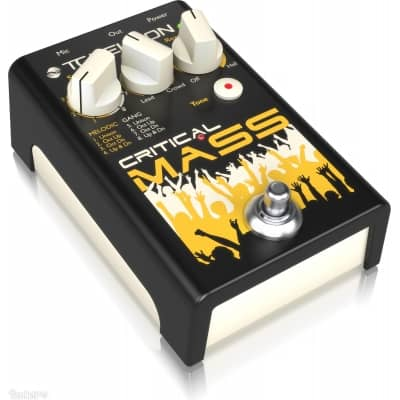 tc helicon critical mass large group vocal effects pedal tc helicon from inta audio uk. Black Bedroom Furniture Sets. Home Design Ideas