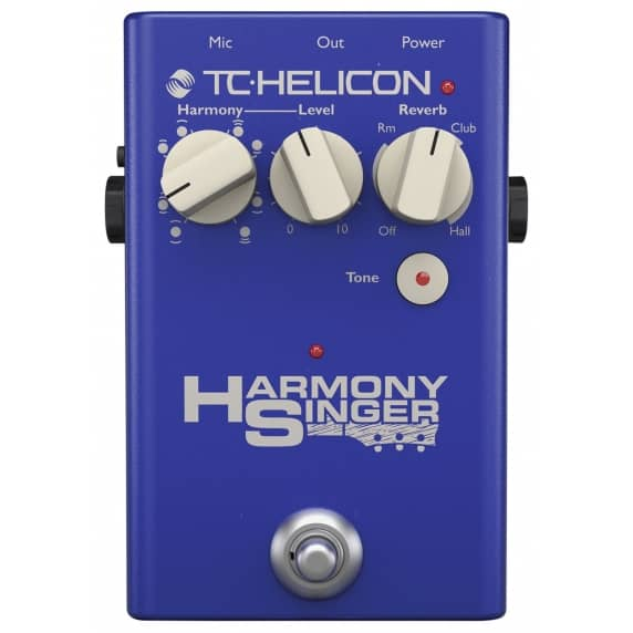 TC Helicon Harmony Singer 2 Stompbox