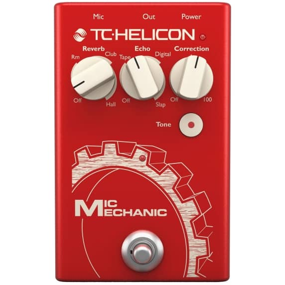 TC Helicon Mic Mechanic 2 Vocal Effects Stompbox - B-Stock