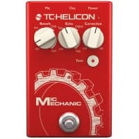 TC-Helicon TC Helicon Mic Mechanic 2 Vocal Effects Stompbox - B-Stock