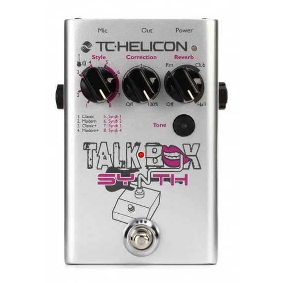 TC Helicon TalkBox Synth Pedal