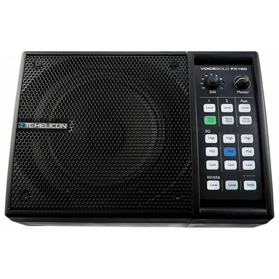 TC-Helicon VoiceSolo FX150 PA Monitor & Voice Processor