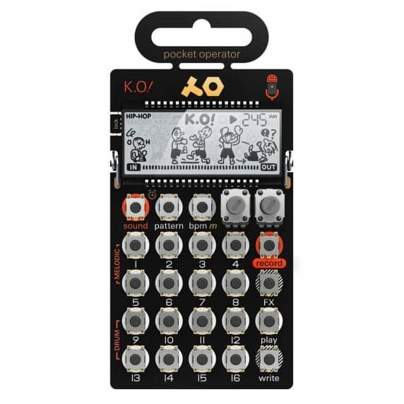 Teenage Engineering PO-33 K.O Sampler (Pocket Operator)