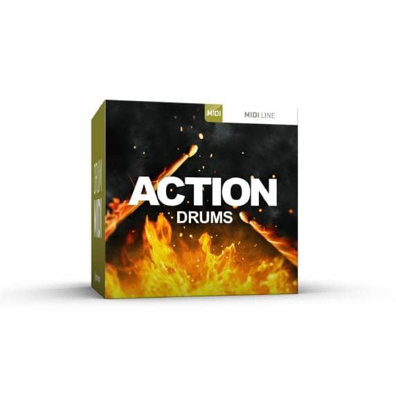 ToonTrack Action Drums Midi Pack (Serial Download)