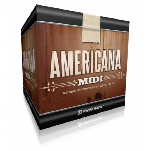 Toontrack Americana MIDI (Serial Download)