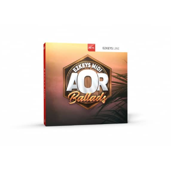 ToonTrack AOR Ballads EZKeys MIDI (Serial Download)