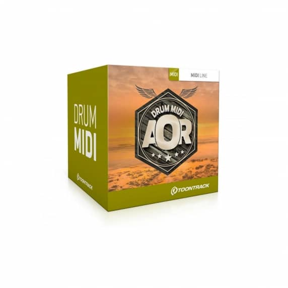 Toontrack AOR Drums MIDI (Serial Download)