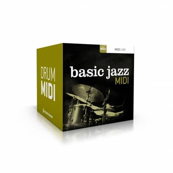 Toontrack Basic Jazz MIDI (Serial Download)