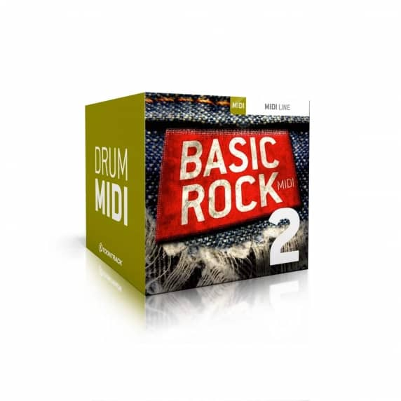 Toontrack Basic Rock 2 MIDI (Serial Download)
