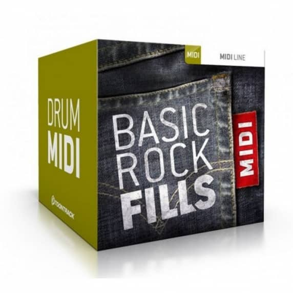 Toontrack Basic Rock Fills (MIDI Pack)  (Serial Download)