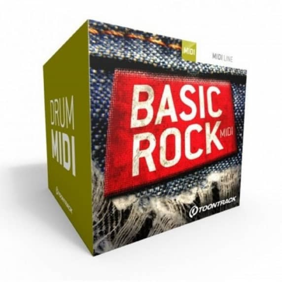 Toontrack Basic Rock MIDI (Serial Download)