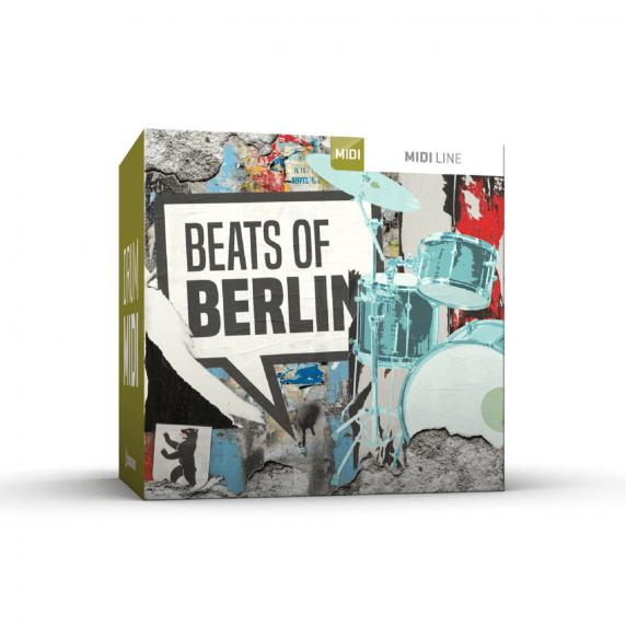 Toontrack Beats of Berlin Drum MIDI Pack (Serial Download)
