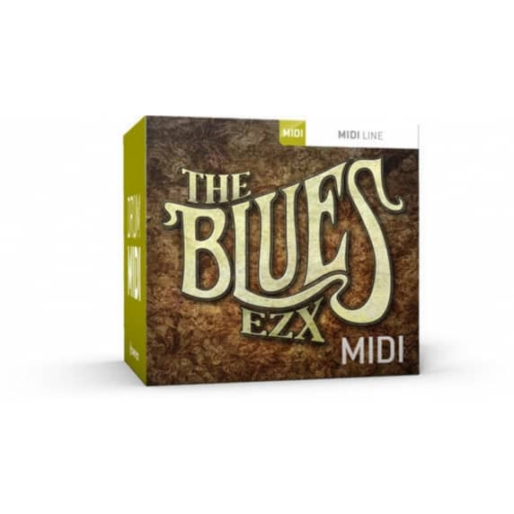Toontrack Blues EZX MIDI (Serial Download)