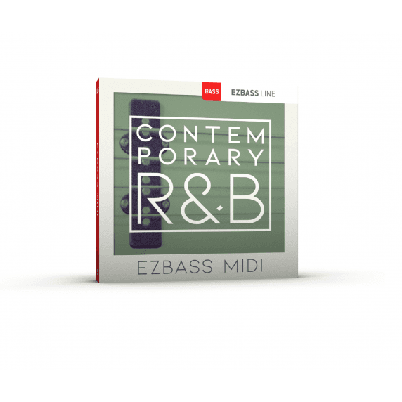 Toontrack Contemporary R&B EZbass MIDI Pack (Serial Download)