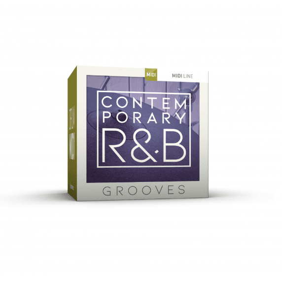 Toontrack Contemporary R&B Grooves Drum Midi Pack (Serial Download)